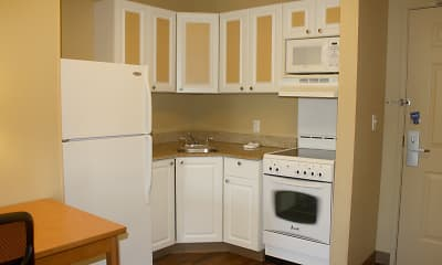 Kitchen, Furnished Studio - San Rafael - Francisco Blvd. East, 1