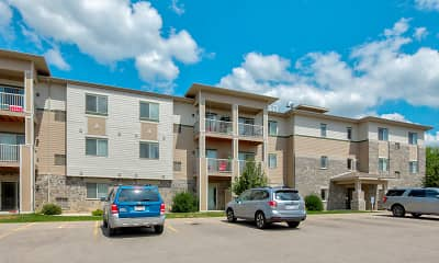 Building, North Towne Apartments, 1