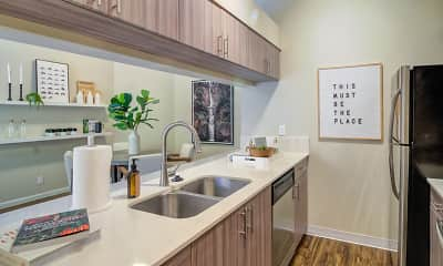 Kitchen, Elm Row, 1