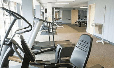 Fitness Weight Room, Olde Towne Apartments, 2