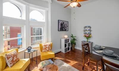 Living Room, The Fitz Flats, 1