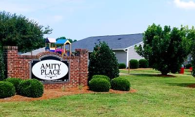Community Signage, Amity Place, 0