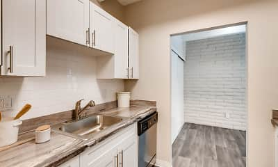 Kitchen, Loft 9, 1