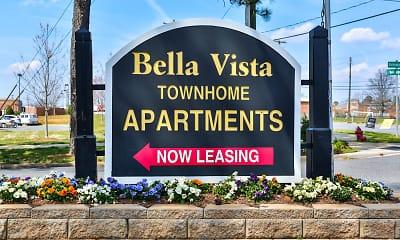 Community Signage, Bella Vista Townhomes, 1