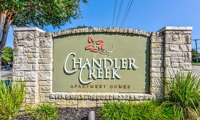 Community Signage, Chandler Creek Apartments, 2