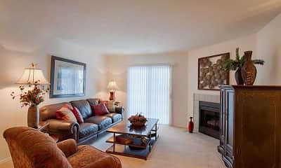 Living Room, Woodbury Commons, 1
