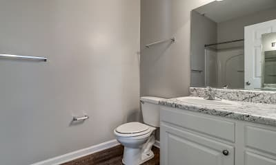 Bathroom, Independence Place Apartments, 2