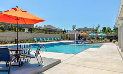 Pool, McHenry Square Apartments, 0
