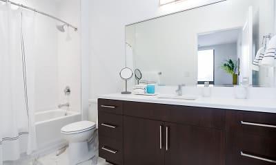 Bathroom, Ten at Clarendon, 1
