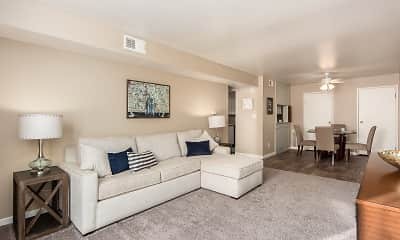 Living Room, Century City Apartments, 0
