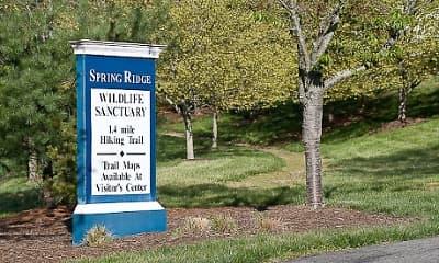 Community Signage, Spring Ridge, 2