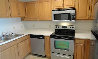 Kitchen, Elkhorn Ridge, 1