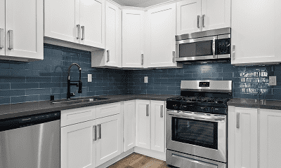 Kitchen, Clarington Court Apartments, 0