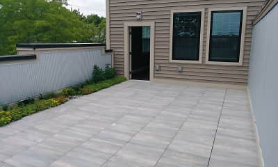 Patio / Deck, 221 Trowbridge Flats, 0