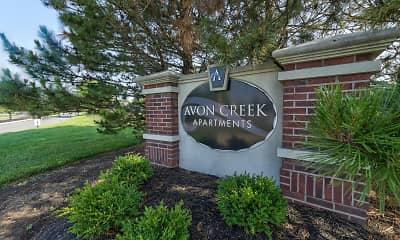 Community Signage, Avon Creek Apartments, 2