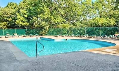 Pool, Lake Park Tower Apartments, 0