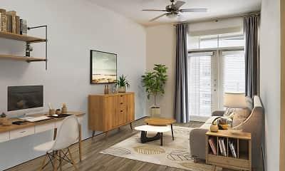Living Room, Camden Lincoln Station, 1