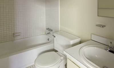 Bathroom, Regency Apartments, 2