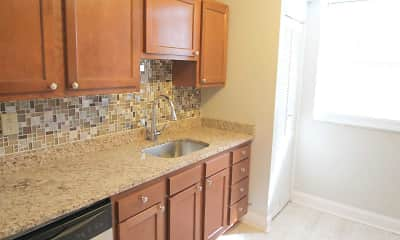 Kitchen, Waldorf Park Apartments, 1