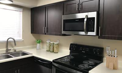 Kitchen, Bennington Apartments, 1