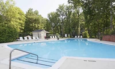 Pool, Princeton Circle, 1