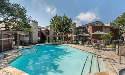 Pool, Landmark at Spring Creek Apartment Homes, 1