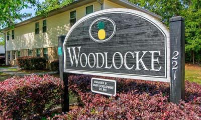 Community Signage, Woodlocke, 2
