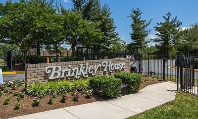 Community Signage, Brinkley House, 1