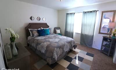 Bedroom, Camelot Apartments, 1