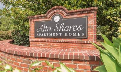 Community Signage, Alta Shores, 2