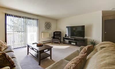 Living Room, Country Meadows Apartments, 1