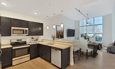 Kitchen, Turbine Lofts, 1