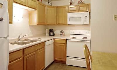 Kitchen, North Side Apartment, 1