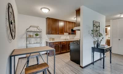 Kitchen, Sumter Green, 0