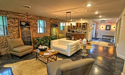 Living Room, Apartments At Pine Brook, 0