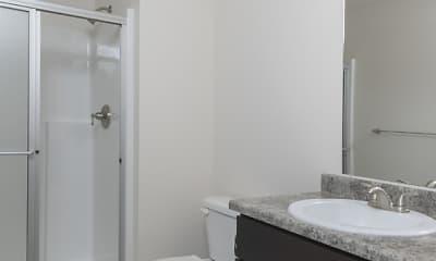 Bathroom, Republic Palms Apartments, 0