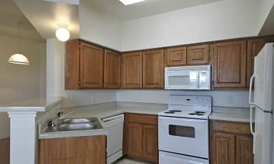 Kitchen, Sycamore Center Villas, 0