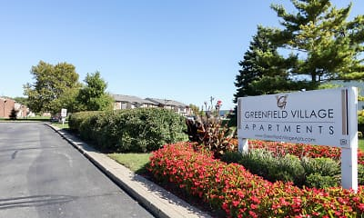 Community Signage, Greenfield Village Apartments, 0