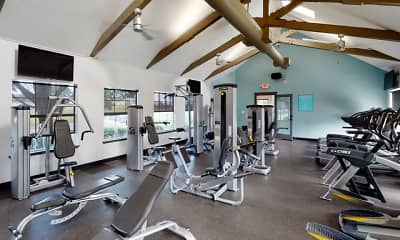 Fitness Weight Room, The Preserve at Tuscaloosa, 1