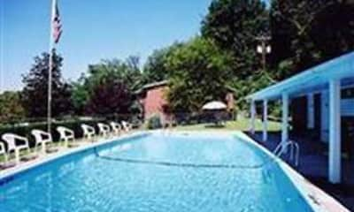 Pool, White Oaks Apartments, 1