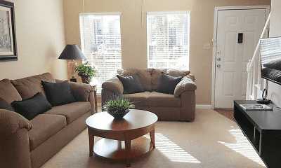 Living Room, Lafayette Green Apartments & Town-Homes, 0