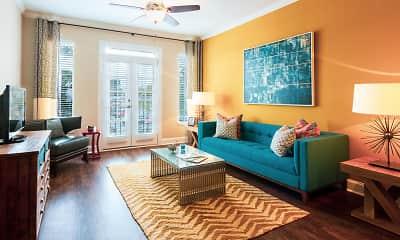 Living Room, 1660 Peachtree, 0