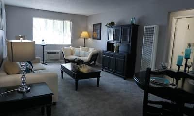 Living Room, Reno Vista Apartments, 0
