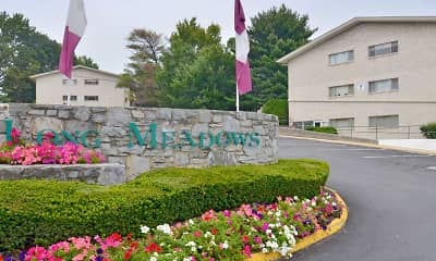 Community Signage, Long Meadows Apartments, 0