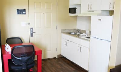 Kitchen, Furnished Studio - Chesapeake - Greenbrier Circle, 1