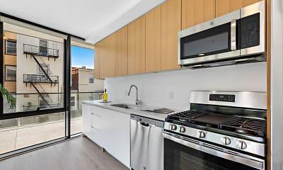 Kitchen, 231 32nd Street Apartments, 1