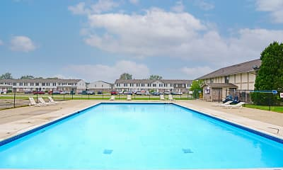 Pool, Heritage Glen Townhomes, 1