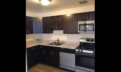 Kitchen, Allyson Gardens Apartments I, 2