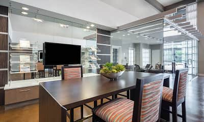 Dining Room, Solara Apartments, 2