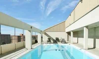 Pool, Iris Apartments, 1